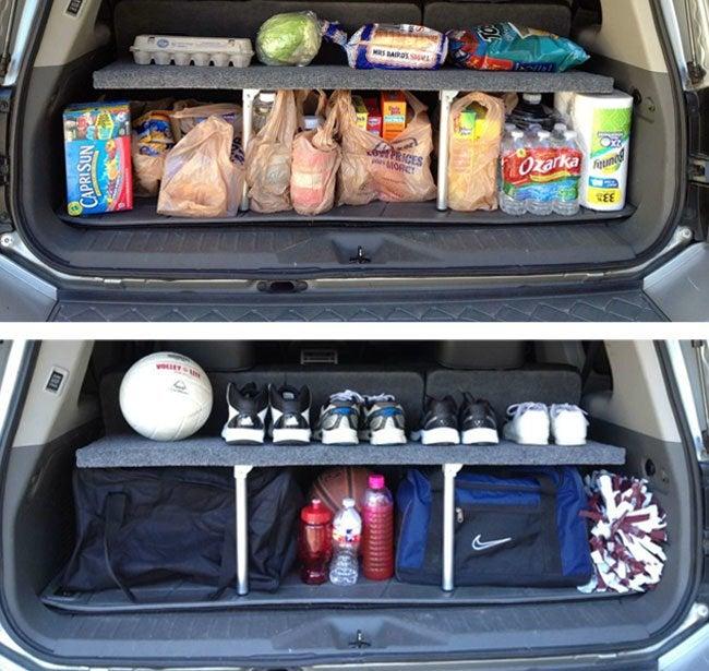 Car Trunk Storage >> Genius Build A Car Trunk Organizer Bob Vila