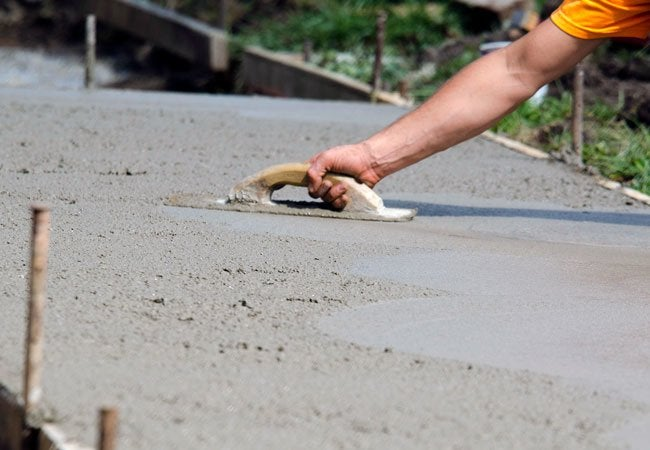 How to Pour Concrete
