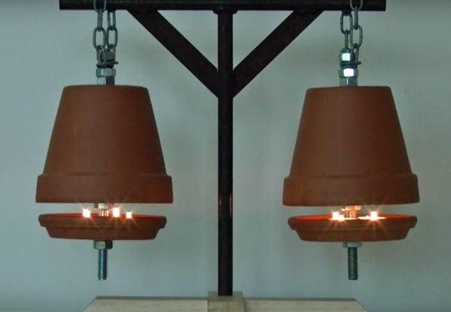 DIY Terracotta Pot Heater