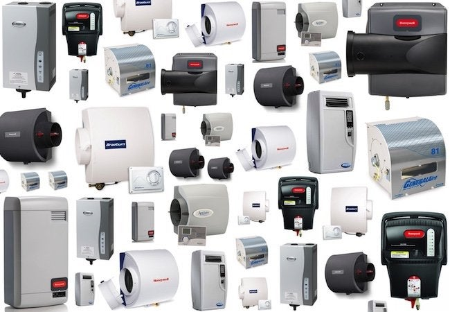 Indoor Air Pollution - Whole Home Humidifier Array