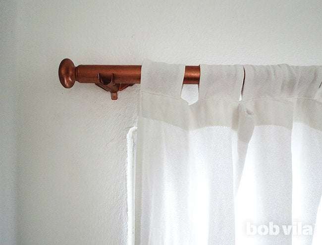 Diy Curtain Rods Step 4