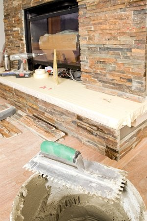 DIY Fireplace Refacing - What to Expect with Installation