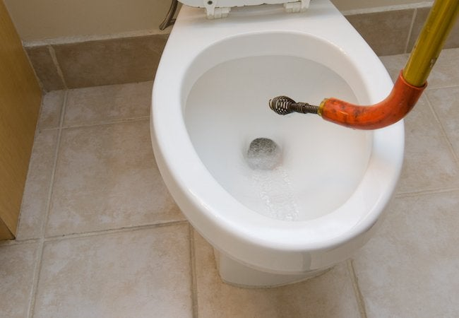 How To Snake A Toilet Bob Vila