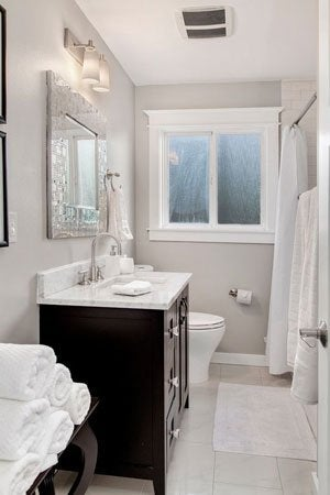 Best Paint for Bathrooms, Solved! - Bob Vila on best deodorizer for bathroom, best subfloor for bathroom, best linoleum flooring for bathroom, best undermount sinks for bathroom, best trash can for bathroom, best indoor plants for bathroom, best grout sealer for bathroom, best ceiling for bathroom, best heater for bathroom, best tile for bathroom, best paneling for bathroom, best pendant lights for bathroom, best sheetrock for bathroom, best beadboard for bathroom, best blinds for bathroom, best floor covering for bathroom, best carpet for bathroom, best vanities for bathroom, best silicone caulk for bathroom, best laminate flooring for bathroom,