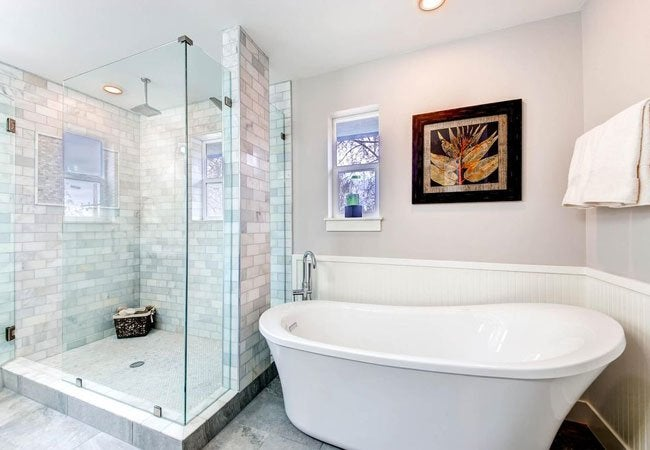 Best paint for bathrooms solved bob vila for What paint is best for bathrooms