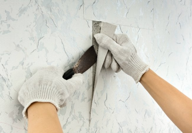 The Best Way To Remove Wallpaper Solved Bob Vila