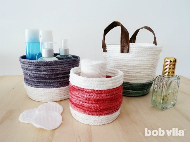 Make a Rope Basket for Easy, Instant Storage