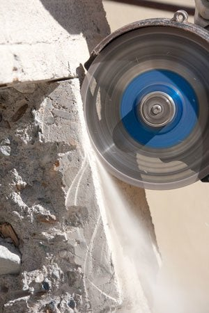 How to Cut Concrete - Bob Vila