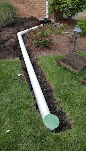 Pop Up Drain System