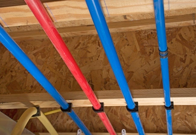 How to shop for pex tubing bob vila for Pex versus copper