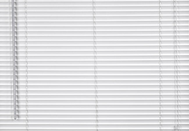 How do you clean metal window blinds