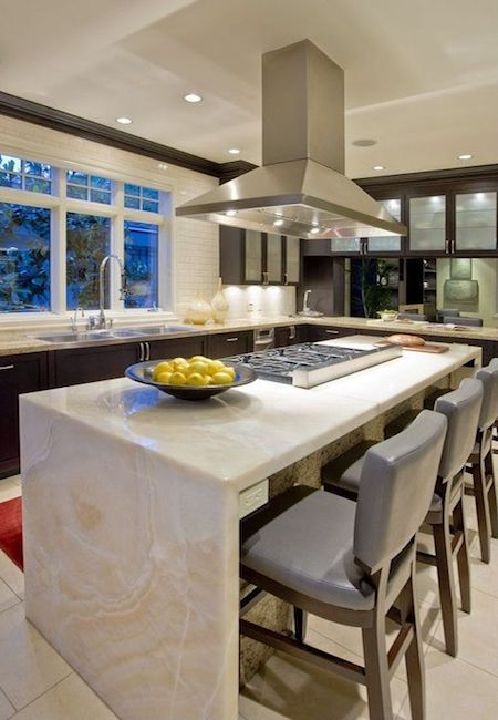 The Waterfall Countertop Trend All
