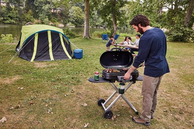 Best Portable Grill with Stand: Coleman Roadtrip
