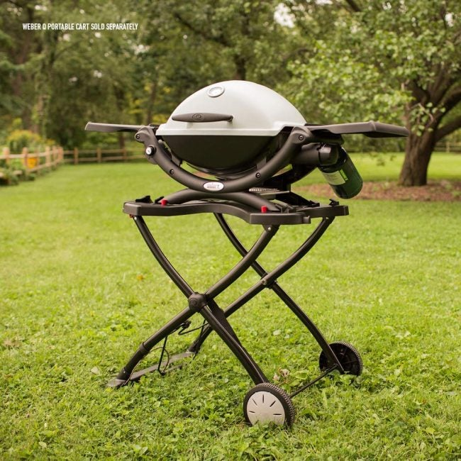 Best Portable Grill (Gas-Powered): Weber Q1200