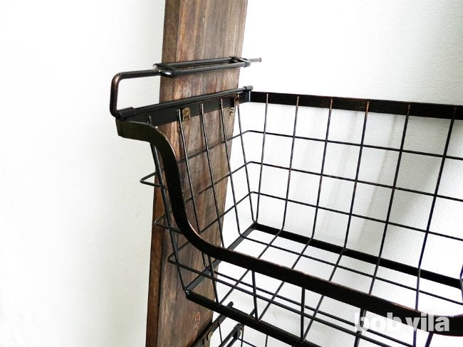 How to DIY a Ladder Plant Stand - Step 9
