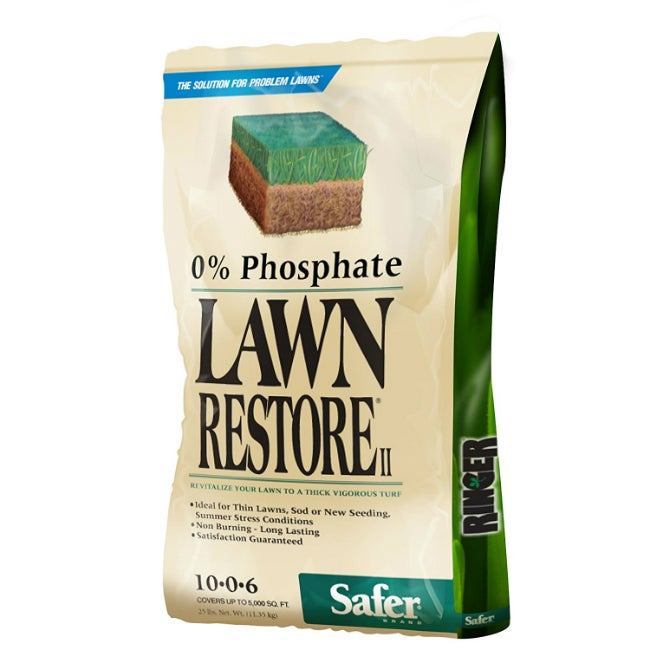 3 Top Options for the Best Lawn Fertilizer - Lawn Restore II