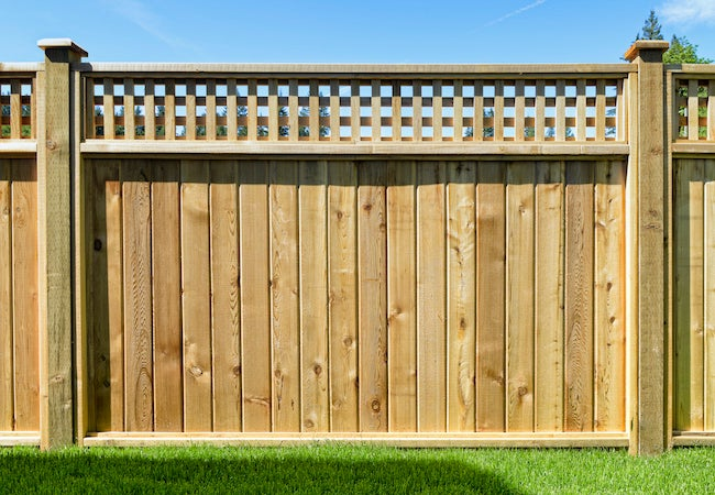 Wood Fence Types