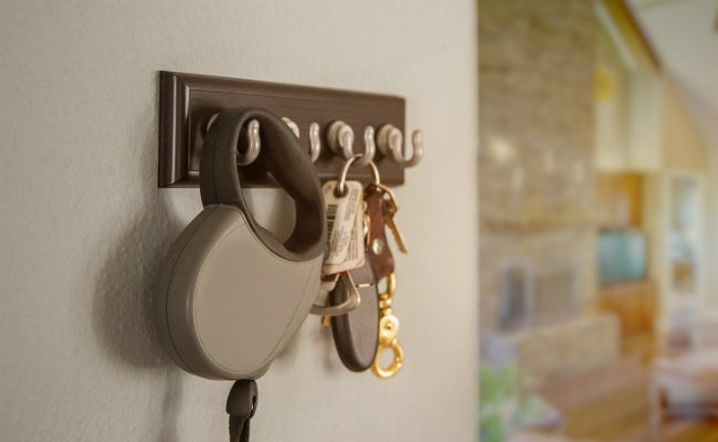 The Easiest Way to Hang Things - High & Mighty Key Rack
