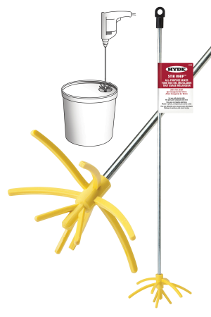 Mix Concrete Easily with HYDE StirWhip