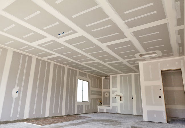 Drywall Gypsum Walls : How to mud drywall bob vila