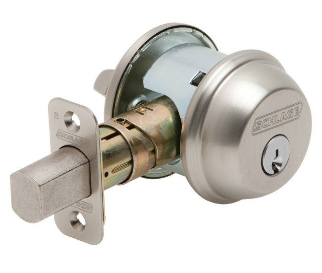 Best Door Lock - Schlage Single Cylinder Deadbolt  sc 1 st  Bob Vila & Best Door Lock - Shopping Guide - Bob Vila