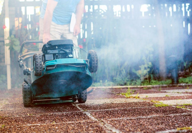 Lawn Mower Smoking? What It Means—and What to Do About It - Bob Vila