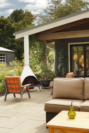 How to Build an Outdoor Fireplace—and Extend Patio Season