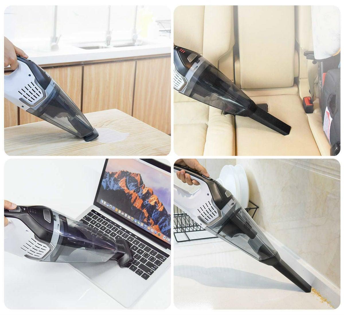 Best Handheld Vacuum: Homasy
