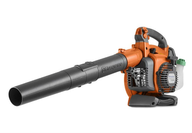 Best Leaf Vacuum for Yards and Gardens - Husqvarna 125BVX Gas Blower With Vacuum