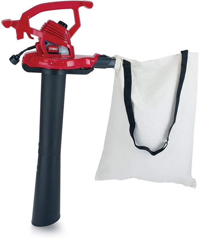 Best Leaf Vacuum with Cord: Toro