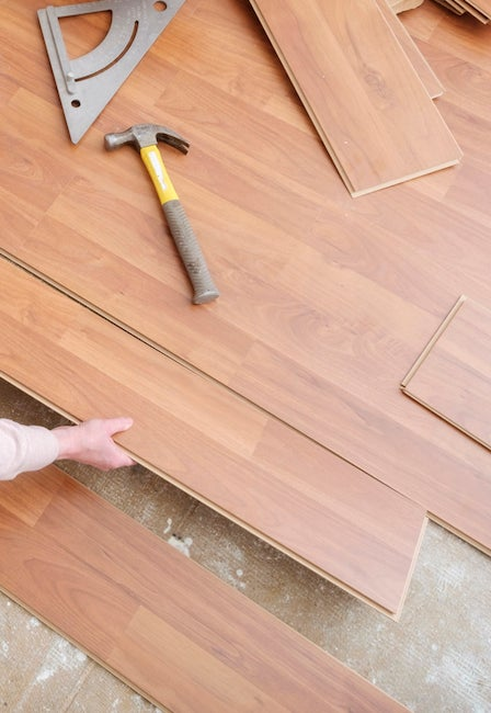 How to remove residue from laminate floors thefloors co for Hardwood floors dull after cleaning