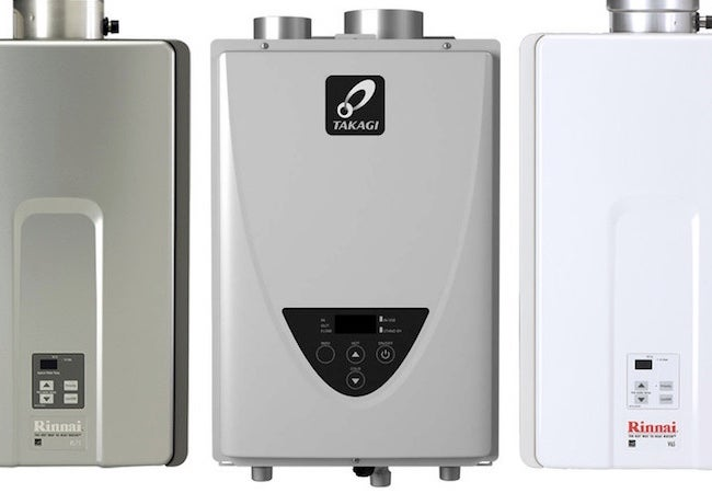 solved! storage tank vs. tankless water heaters - bob vila