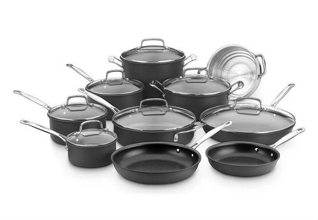Best Nonstick Cookware - Cuisinart Chef's Classic Non-Stick 17-Piece Set