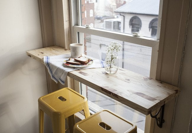 DIY Breakfast Bar Table