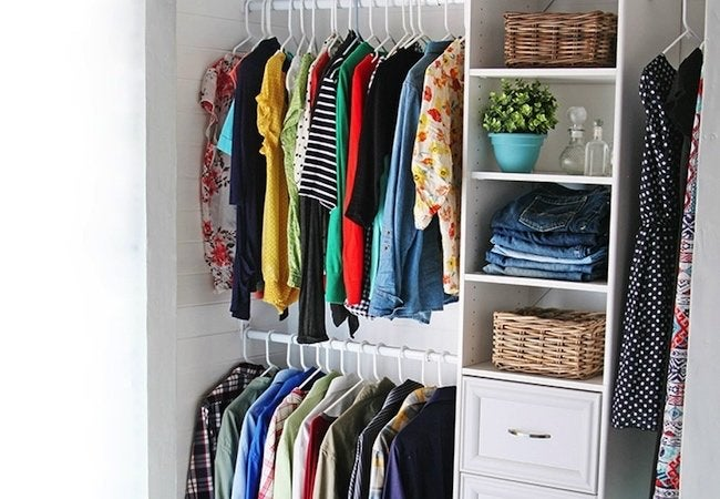 Small Closet Ideas Diy Custom