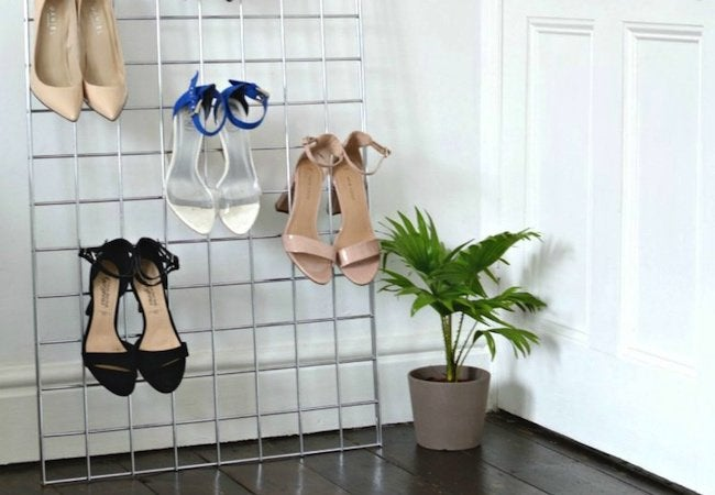 Small Closet Ideas - High Heels Organizer