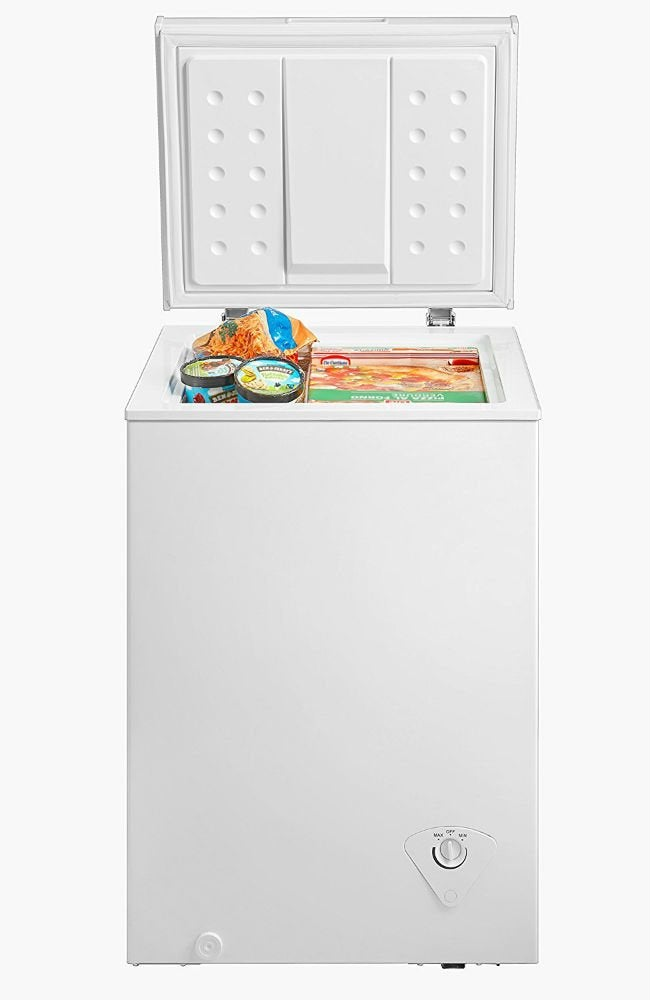 Best Chest Freezer - midea 3.5 cu ft Single Door Chest Freezer