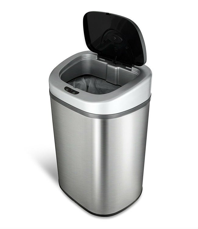 The Best Kitchen Trash Can   NINESTARS 21 Gallon Motion Sensor Trash Can