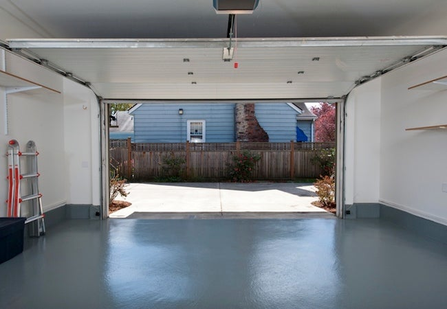 How to Organize a Garage - Clear Space