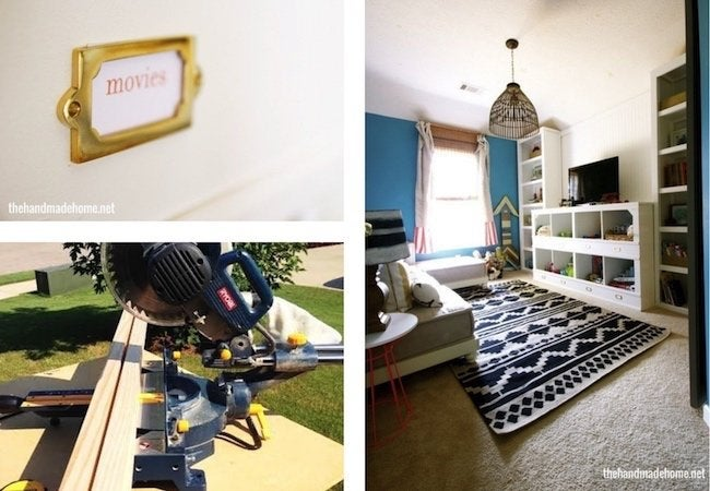 Toy Storage Ideas - DIY Cubbies