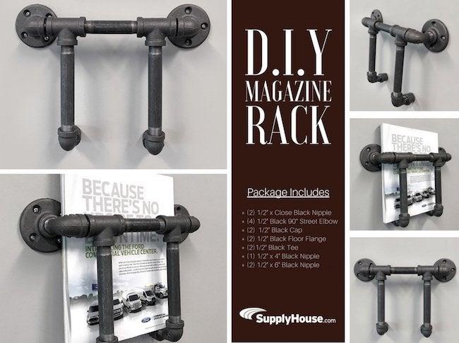 DIY Magazine Rack - How To - Bob Vila