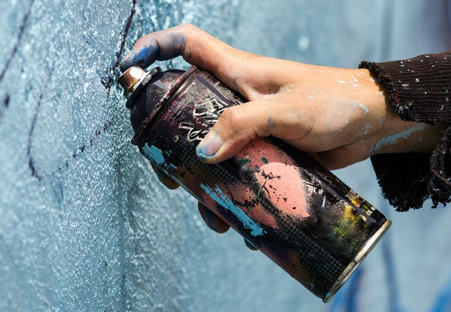 How to Remove Spray Paint from Skin