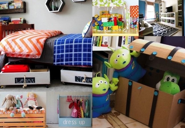 Too many toys reclaim your home with 12 easy storage for Living room toy storage ideas