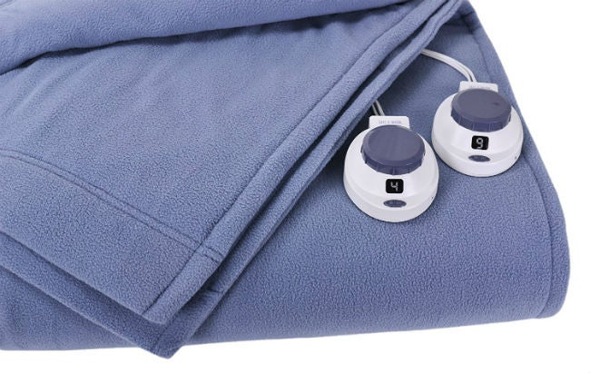 Best Electric Blanket - SoftHeat Microplush Fleece Blanket