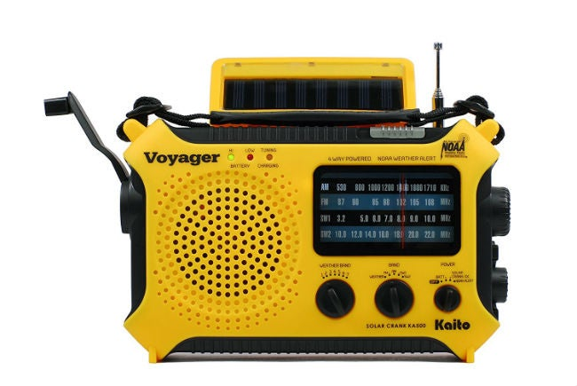 Top Recommendations for the Best Emergency Radio - Kaito KA500 Emergency Weather Alert Radio