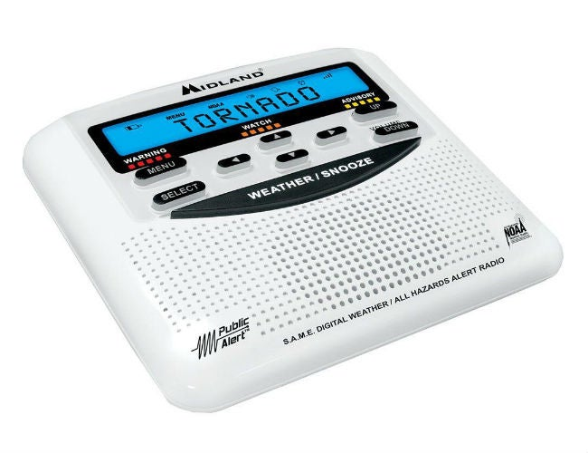 Top Recommendations for the Best Emergency Radio - Midland WR120B SAME Weather Alert Radio