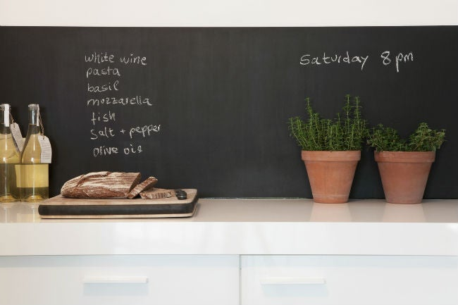 temporary chalkboard wallpaper