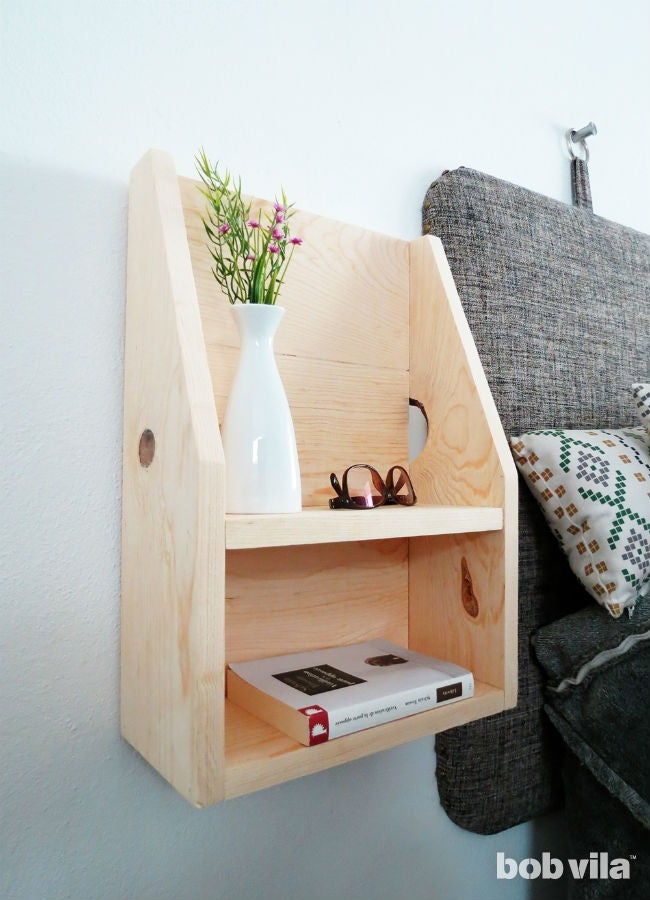 How to Make a DIY Floating Nightstand
