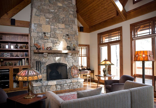 How To Clean A Stone Fireplace Bob Vila