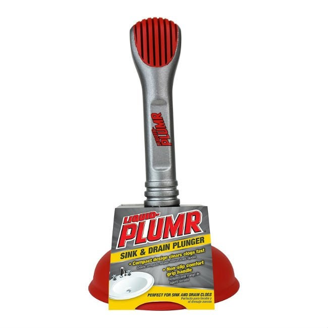 Best Plunger for Sink - Liquid Plumr SInk and Drain Plunger